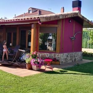 Exterior porche